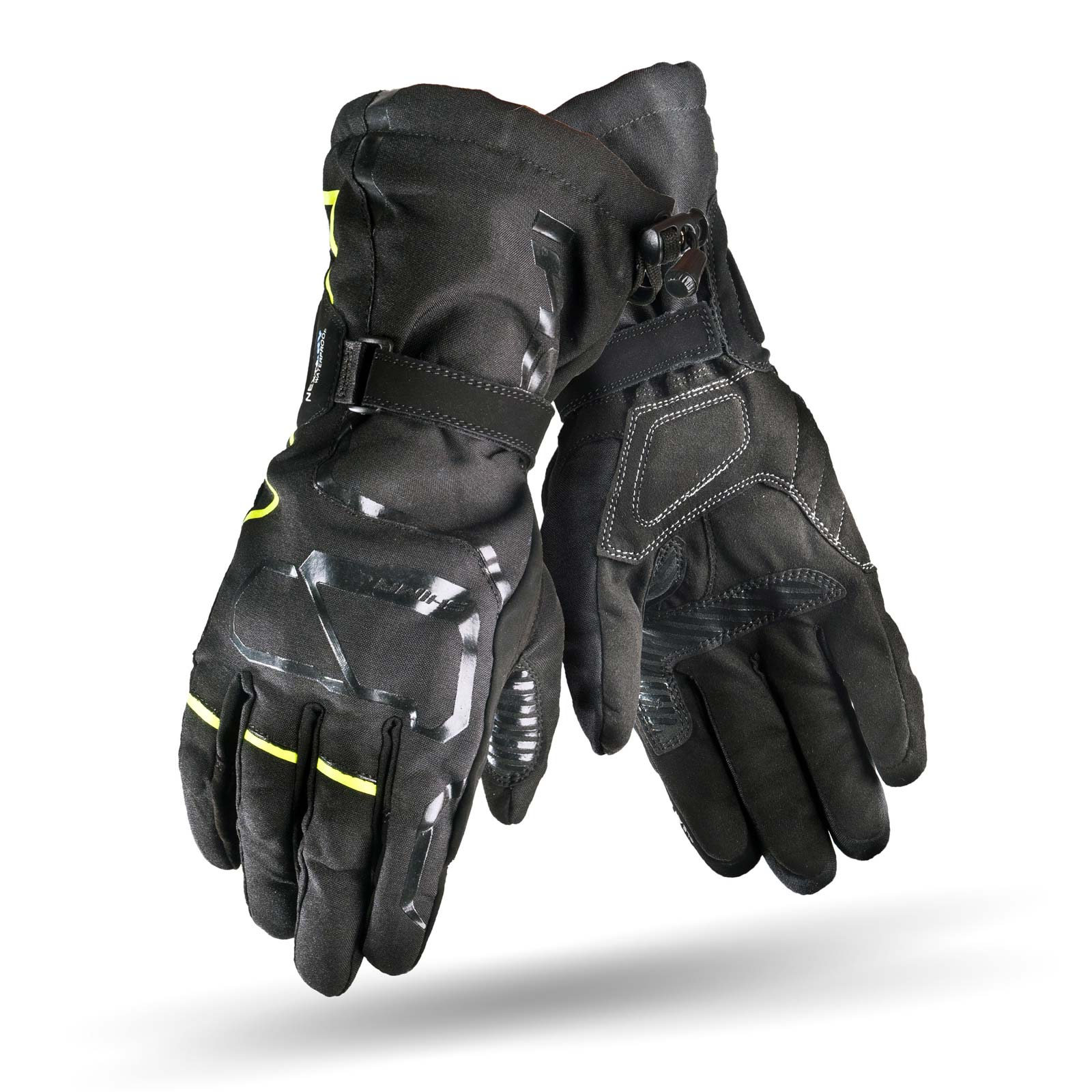 Black leather gloves brisbane - Evo 2